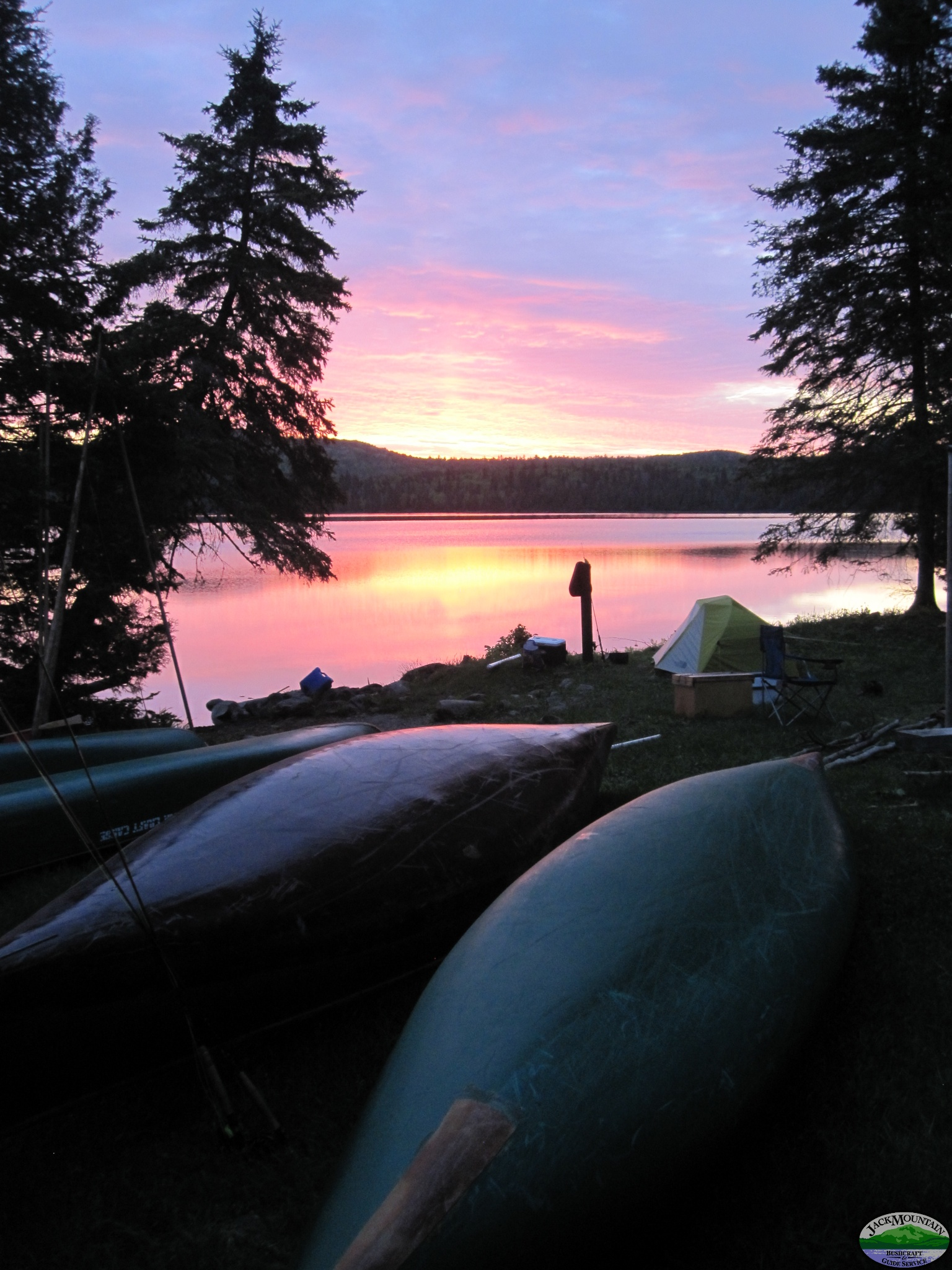 First Light At Round Pond, Allagash