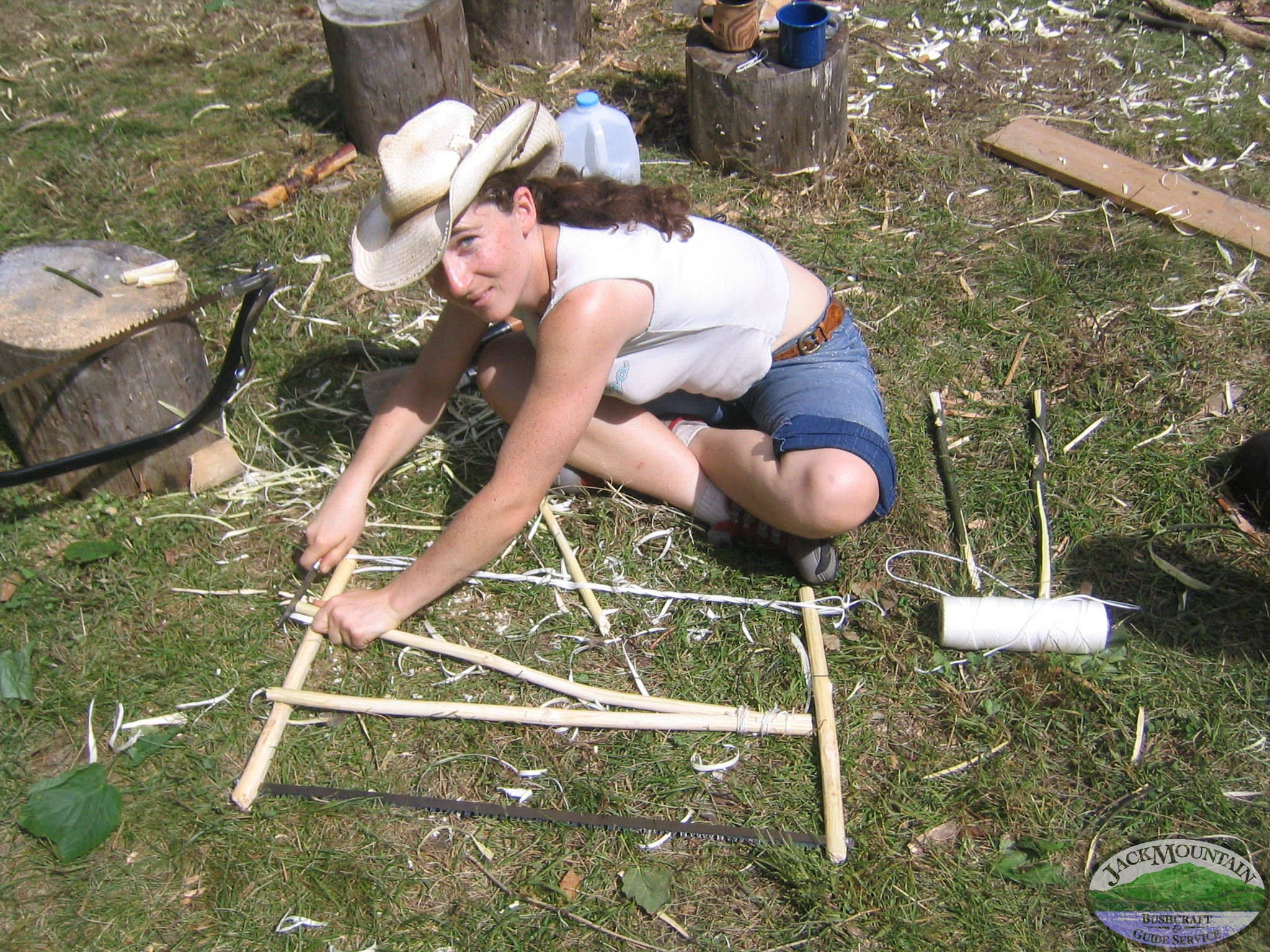 Assembling A Saw