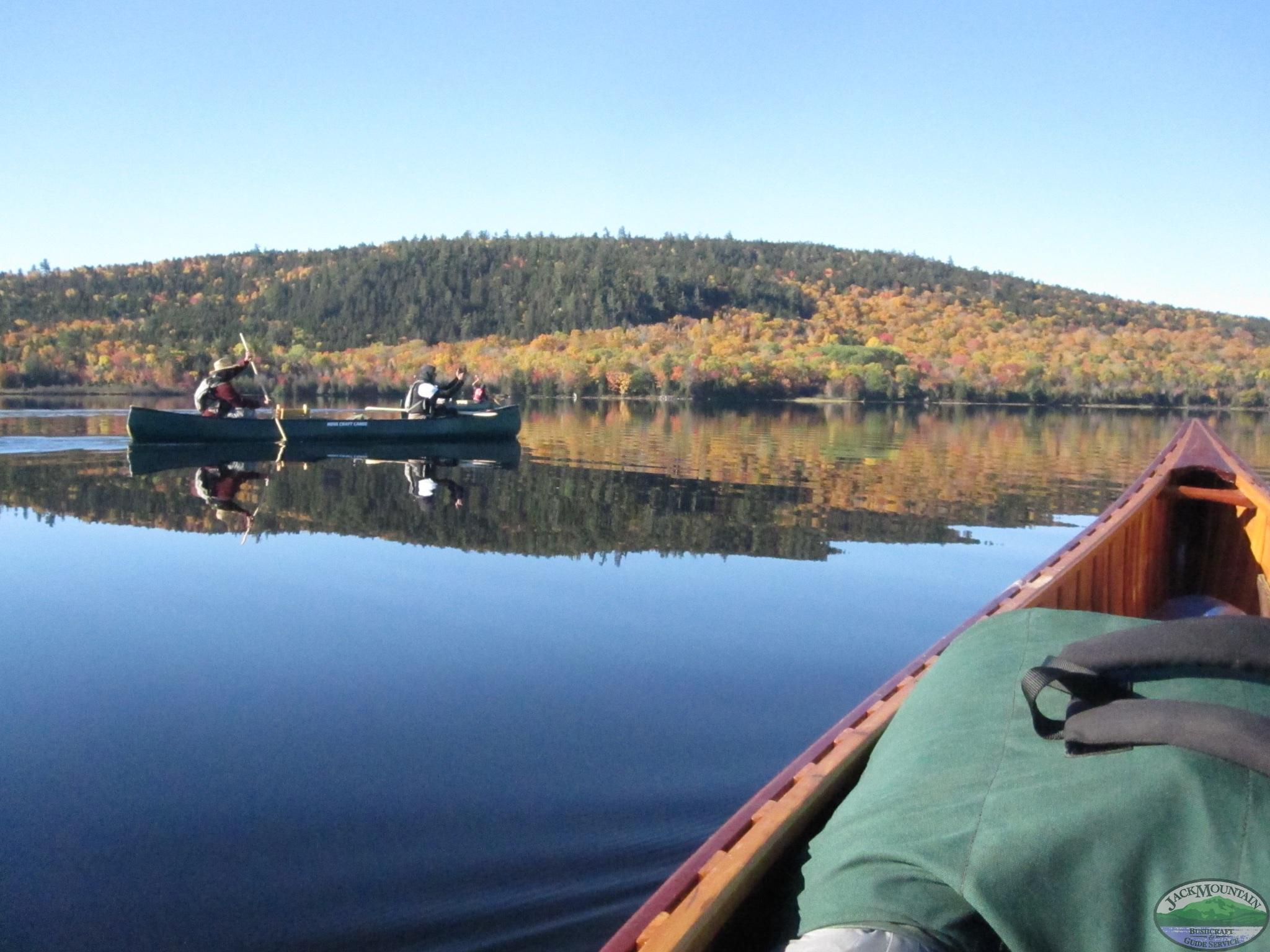 Canoeing Reflection
