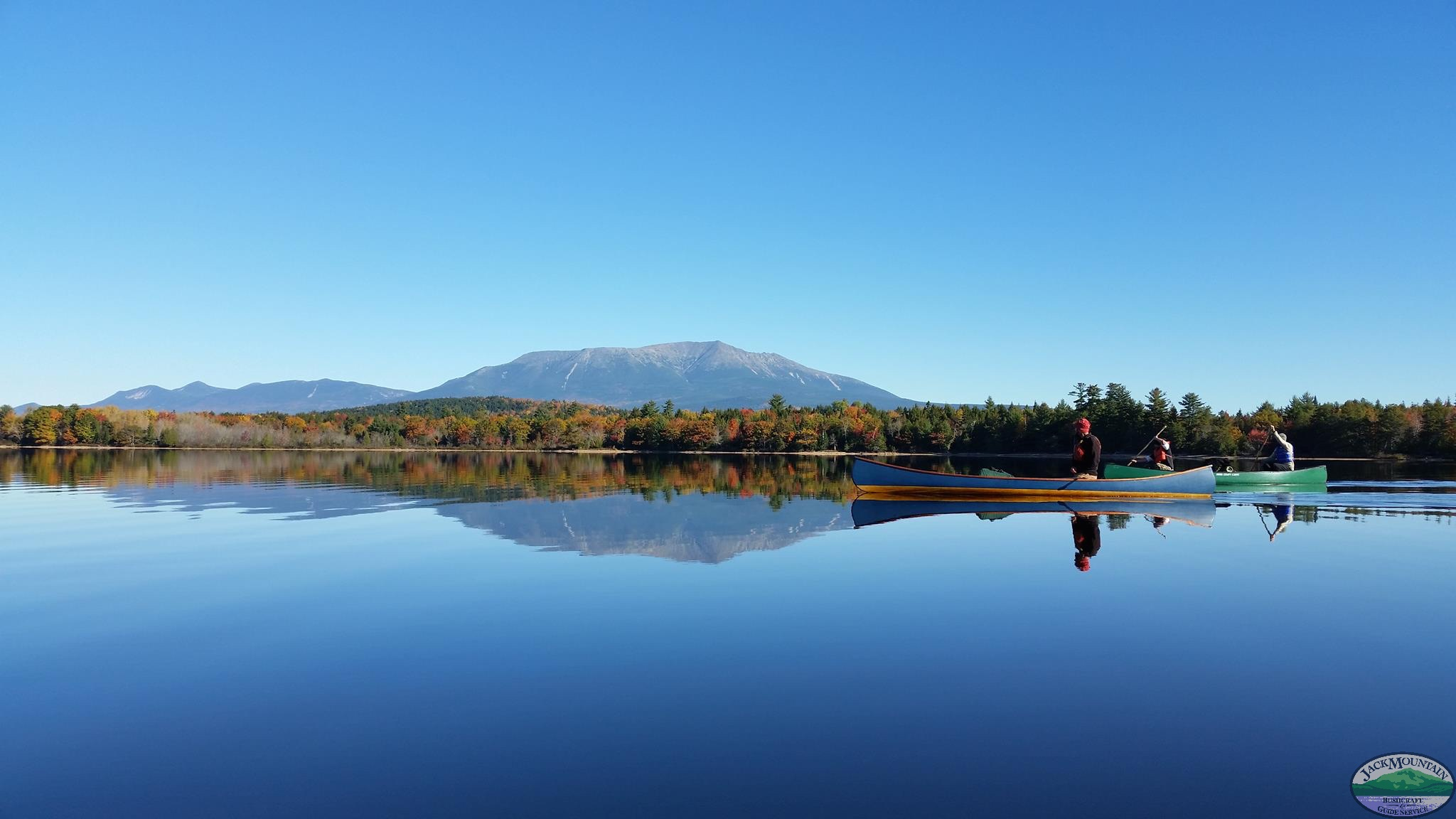 Canoes And Katahdin