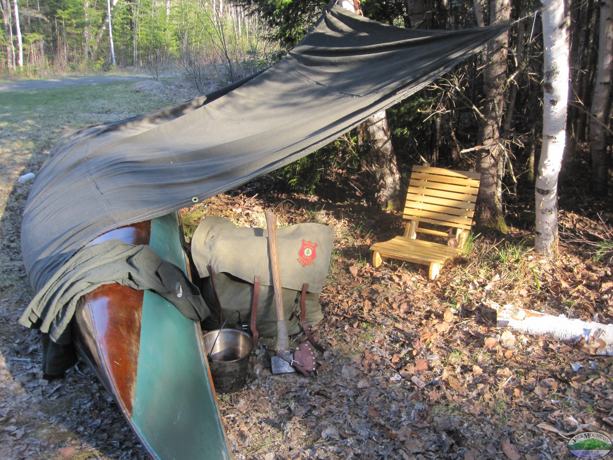 Traditional Canoe Shelter