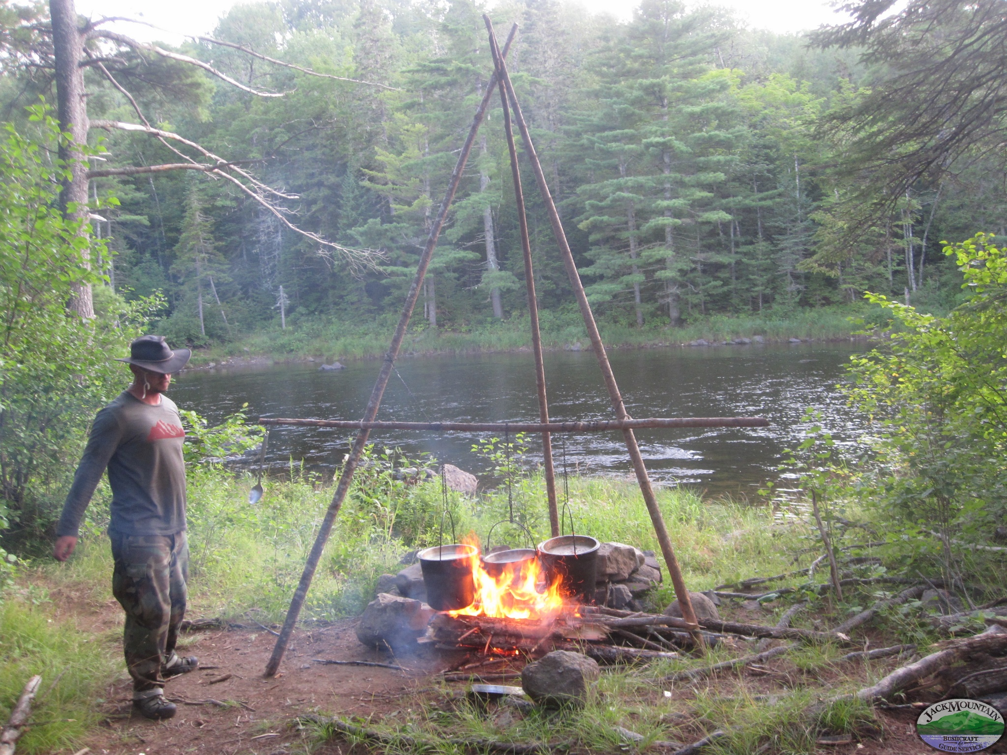 Cooking Dinner On The East Branch
