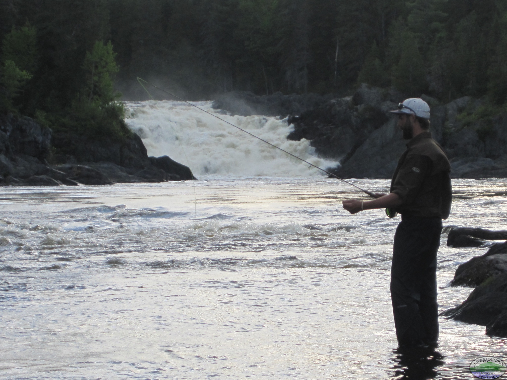 Fishing Below Allagash Falls