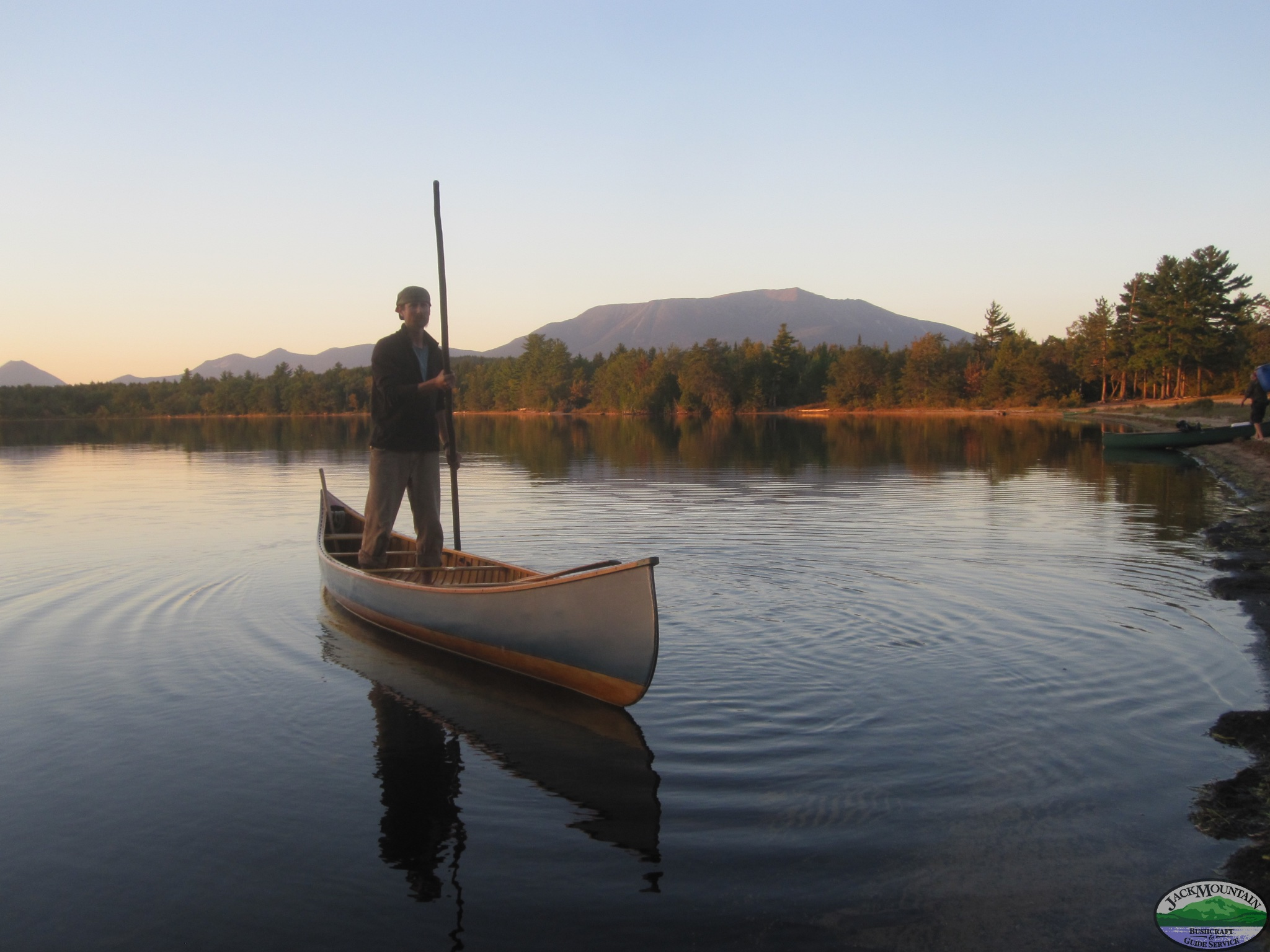Katahdin And Canoe Poling