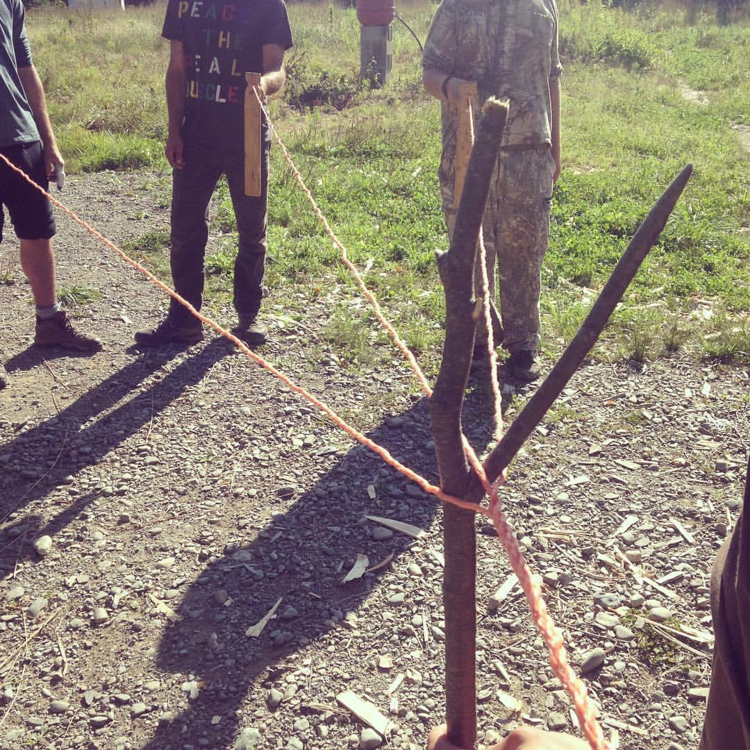 primitive-ropemaking