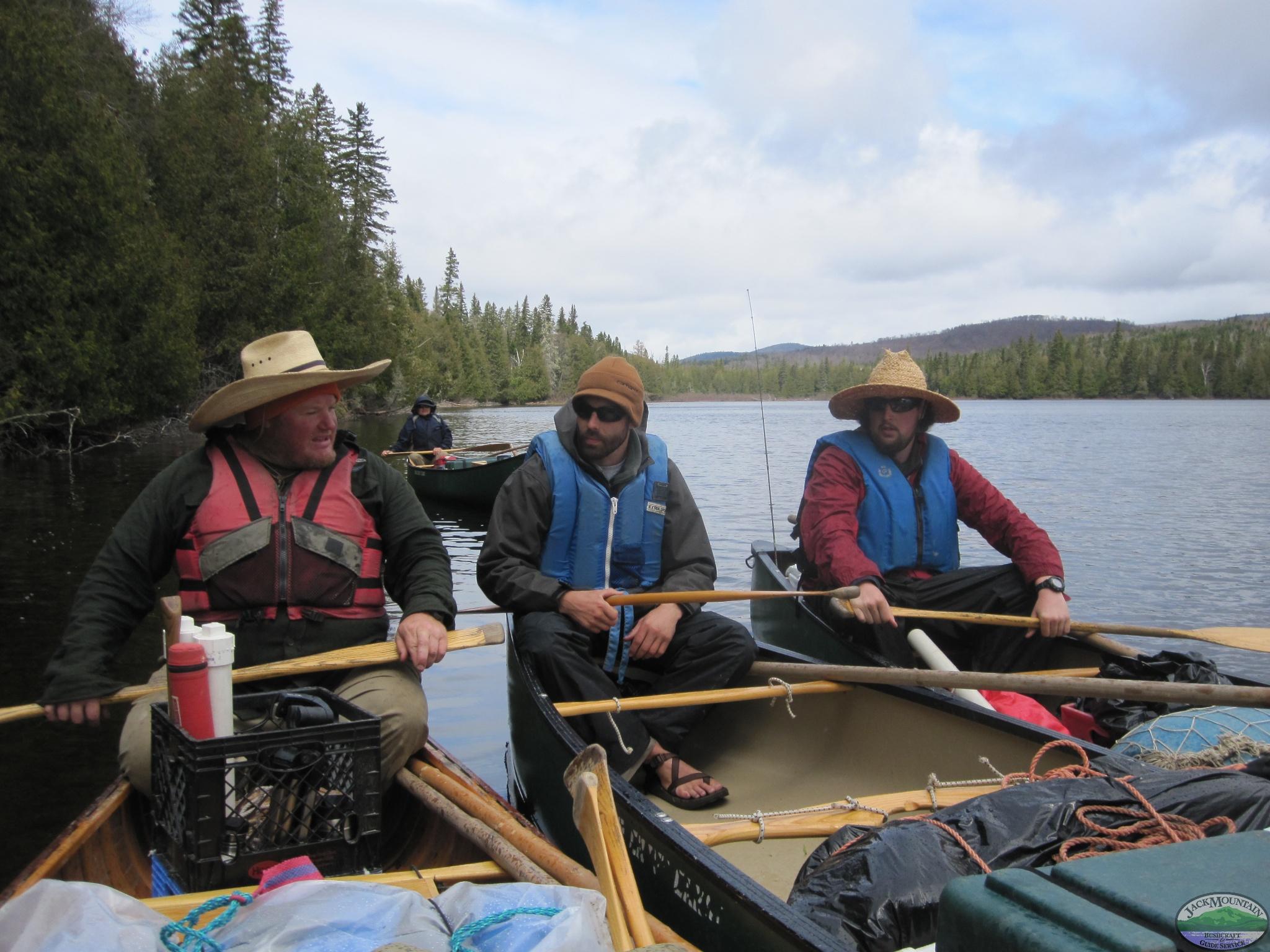 Rafting Up, Aroostook River