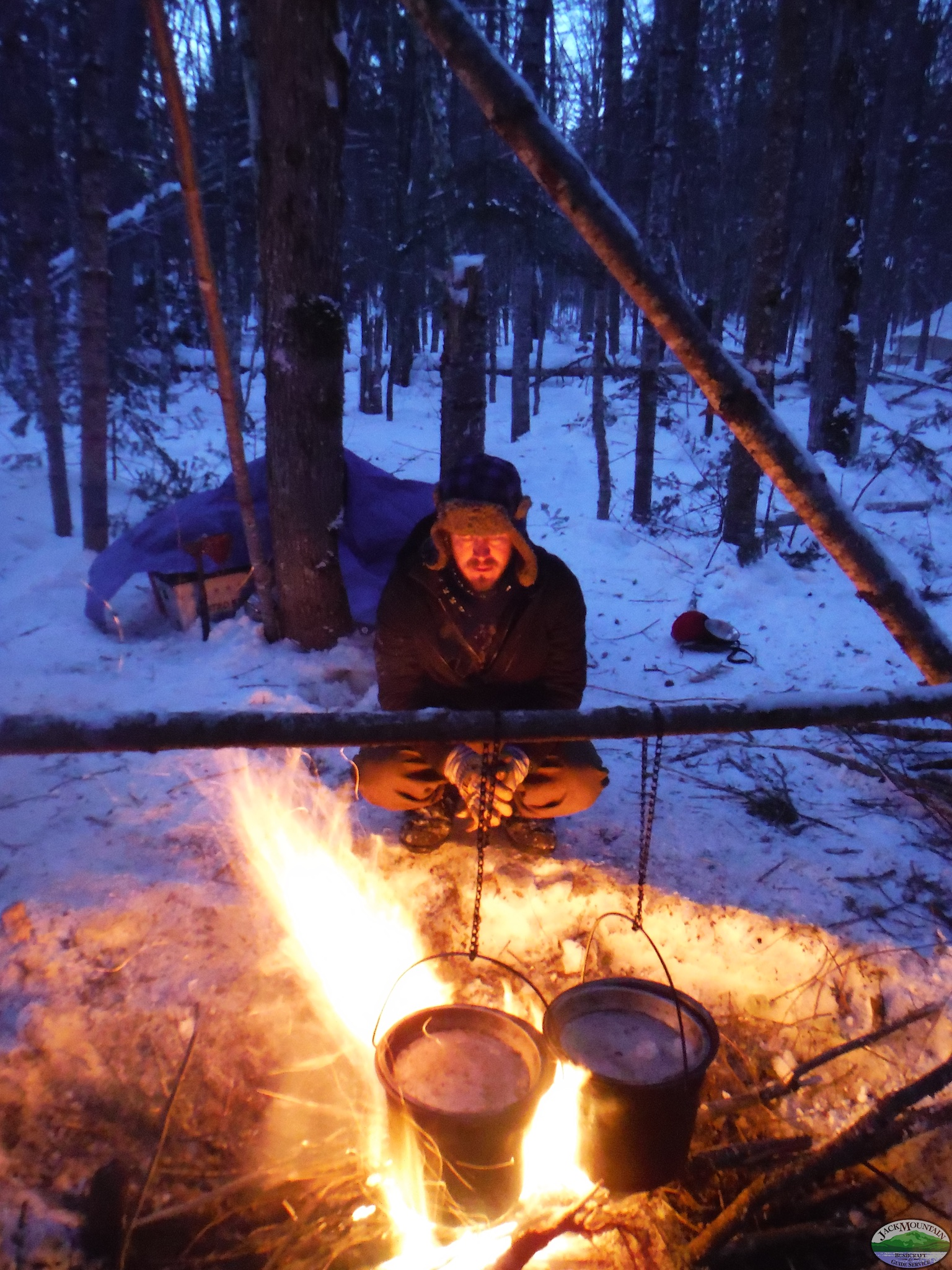 Tending The Cook Fire